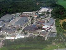 Uma área industrial Imagens de Stock Royalty Free