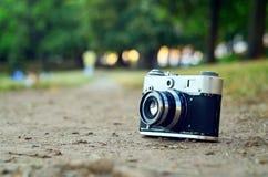 Uma única câmera Fotografia de Stock