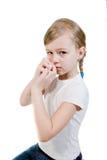 Uma alergia. fotografia de stock royalty free