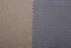 Uma amostra de texturas multi-coloridas das telas fotografia de stock