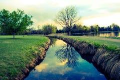 Uma angra imóvel da água Imagem de Stock