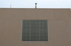 Uma arte da porta da mesquita Fotografia de Stock Royalty Free