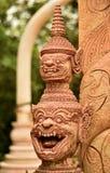 Uma arte tailandesa bonita Fotos de Stock Royalty Free