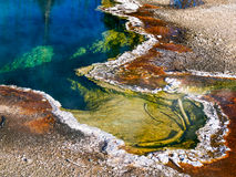 Mola térmica em Yellowstone foto de stock royalty free