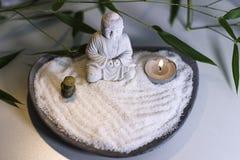 Uma atmosfera por um momento do zen imagens de stock royalty free