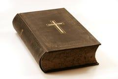Uma Bíblia velha Fotografia de Stock Royalty Free