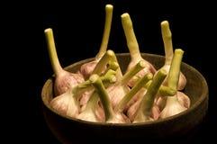 Uma bacia de cebolas Imagem de Stock Royalty Free