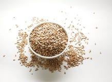 Uma bacia de sementes de girassol imagem de stock