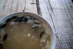 Uma bacia de sopa Foto de Stock Royalty Free