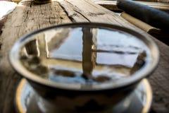Uma bacia de sopa Imagens de Stock