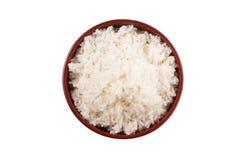 Uma bacia do arroz cozinhado II foto de stock