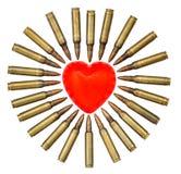 Cardíaco de ataque isolado Imagem de Stock