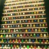 Uma barra muito colorida Fotografia de Stock Royalty Free