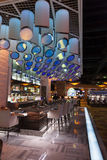 Uma barra no hotel em Las Vegas, nanovolt de Silverton o 20 de agosto de 2013 Imagem de Stock Royalty Free