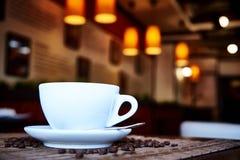 Uma bebida do café foto de stock