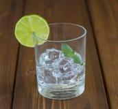 Uma bebida refrigerando do verão Fotos de Stock Royalty Free
