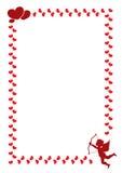 Uma beira para o dia de Valentim Imagem de Stock Royalty Free