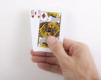 Uma boa mão Imagem de Stock