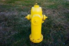 Uma boca de incêndio de fogo Fotografia de Stock Royalty Free