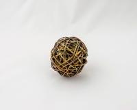 Uma bola de Brown dos galhos Foto de Stock Royalty Free
