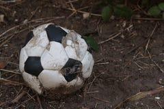 Uma bola só pobre Fotografia de Stock Royalty Free