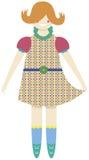 Uma boneca Imagem de Stock