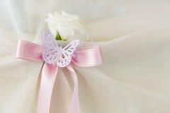 Uma borboleta de papel Fotografia de Stock Royalty Free