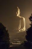 uma Buda de 80 ft em Bodhgaya Fotografia de Stock