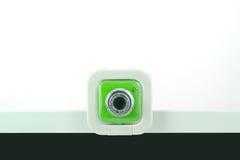 Uma câmara web verde Foto de Stock Royalty Free
