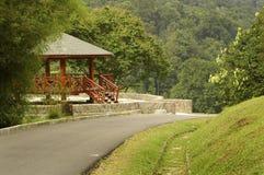 Uma cabana de madeira Foto de Stock Royalty Free
