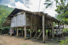 Uma cabana pequena na selva Foto de Stock Royalty Free