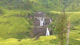Uma cachoeira cingalesa Imagens de Stock