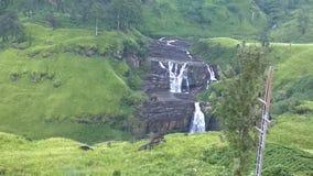 Uma cachoeira cingalesa Imagem de Stock Royalty Free