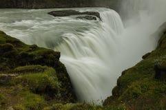 Uma cachoeira incrível em Islândia Fotografia de Stock