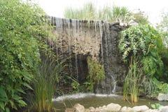 Uma cachoeira pequena Fotos de Stock Royalty Free
