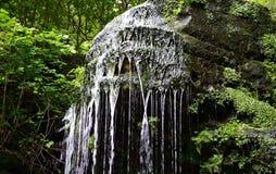 Uma cachoeira pequena Imagens de Stock Royalty Free