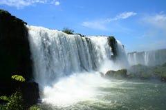 Uma cachoeira poderosa Imagem de Stock