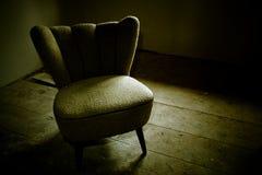Uma cadeira Imagem de Stock Royalty Free