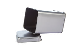 Uma caixa de alumínio fotografia de stock