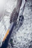 Uma caixa de engrenagens da bicicleta Fotografia de Stock