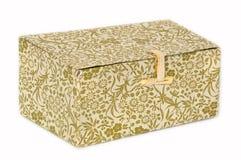Uma caixa de papel Fotografia de Stock Royalty Free