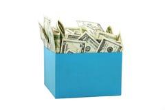 Uma caixa do dinheiro Imagens de Stock