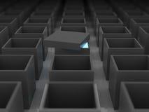 Uma caixa não aberta Imagem de Stock