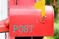 Uma caixa postal imagem de stock
