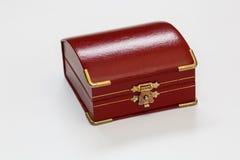 Uma caixa vermelha pequena Fotos de Stock