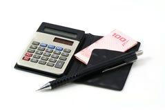 Uma calculadora Foto de Stock