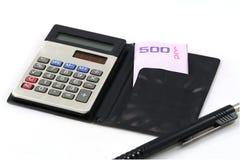 Uma calculadora Imagem de Stock Royalty Free