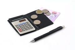 Uma calculadora Imagem de Stock