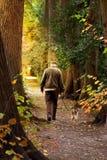 Uma caminhada no parque Imagens de Stock