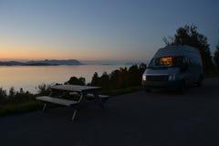 Uma camionete de viagem Foto de Stock Royalty Free